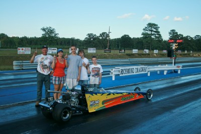 Allan Talley and Co cherish the 2009 JD Championship