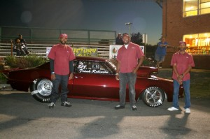 #1 Qualifier Frank Robinson was the 4.90 Runner Up in the beautiful Camaro!