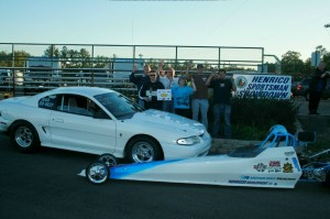 The Sparkmans had a great day, Sean won Modified and Adam won Juniors