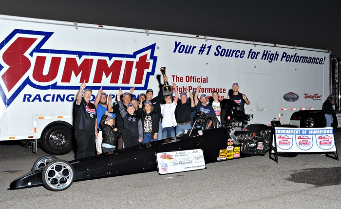 JB Donati wins 2011 IHRA Top Dragster World Championship, Al Burkett #2 in Top Sportsman thumbnail
