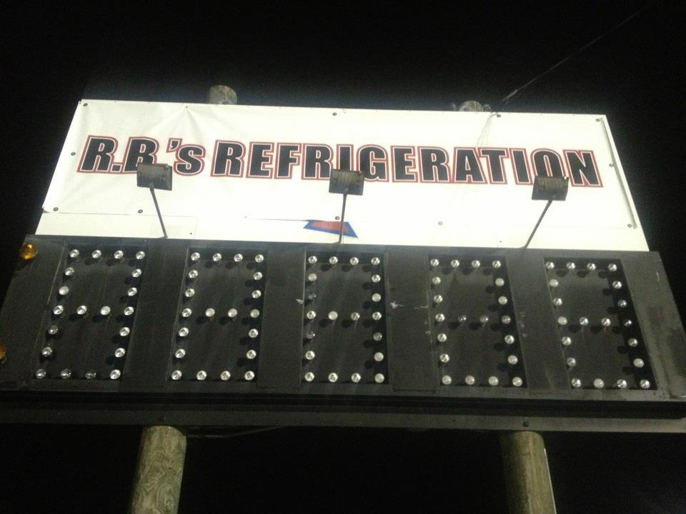 RD welcomes RB's Refrigeration as the new Right Lane Scoreboard Sponsor thumbnail