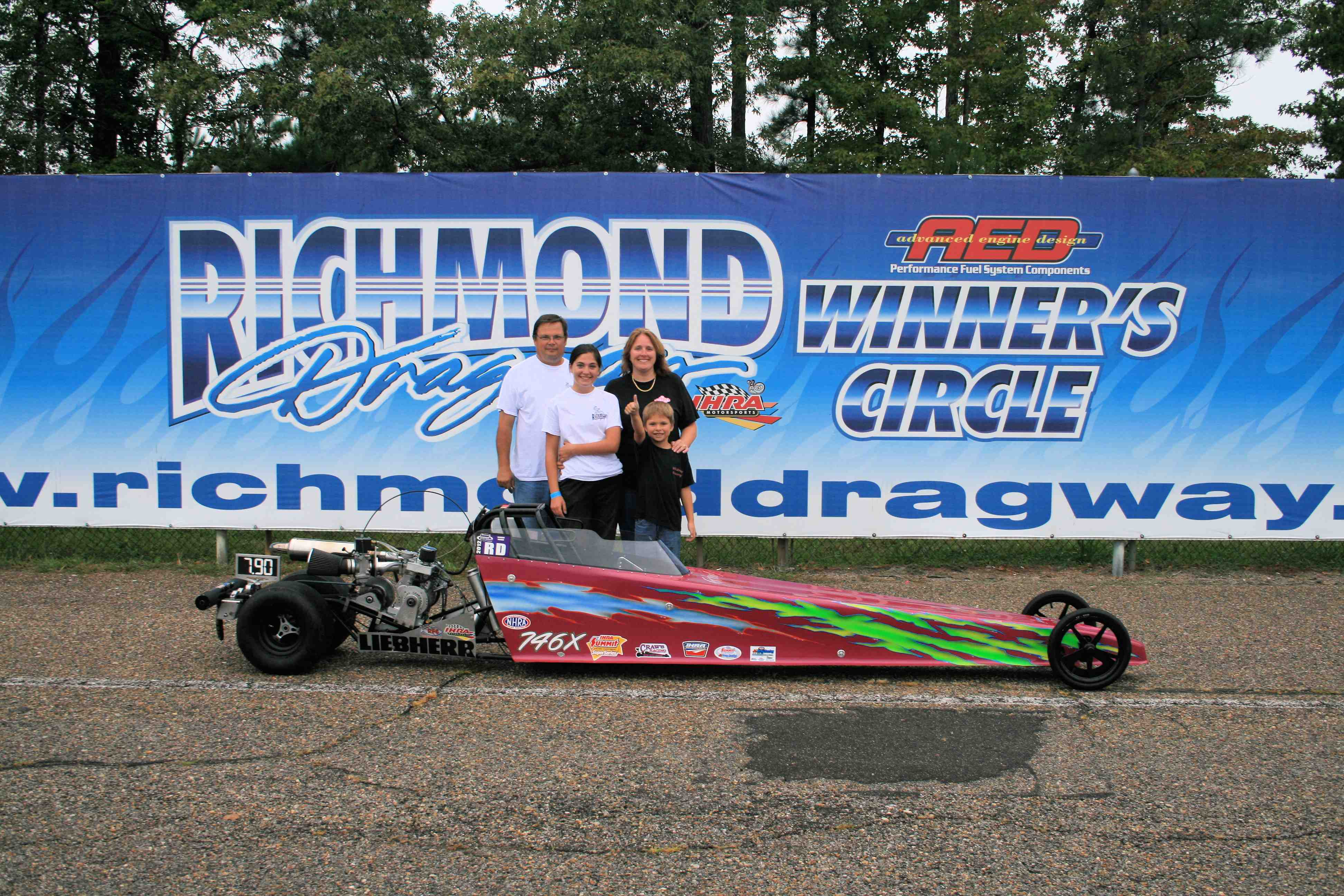2013 aed performance track champions | richmond dragway