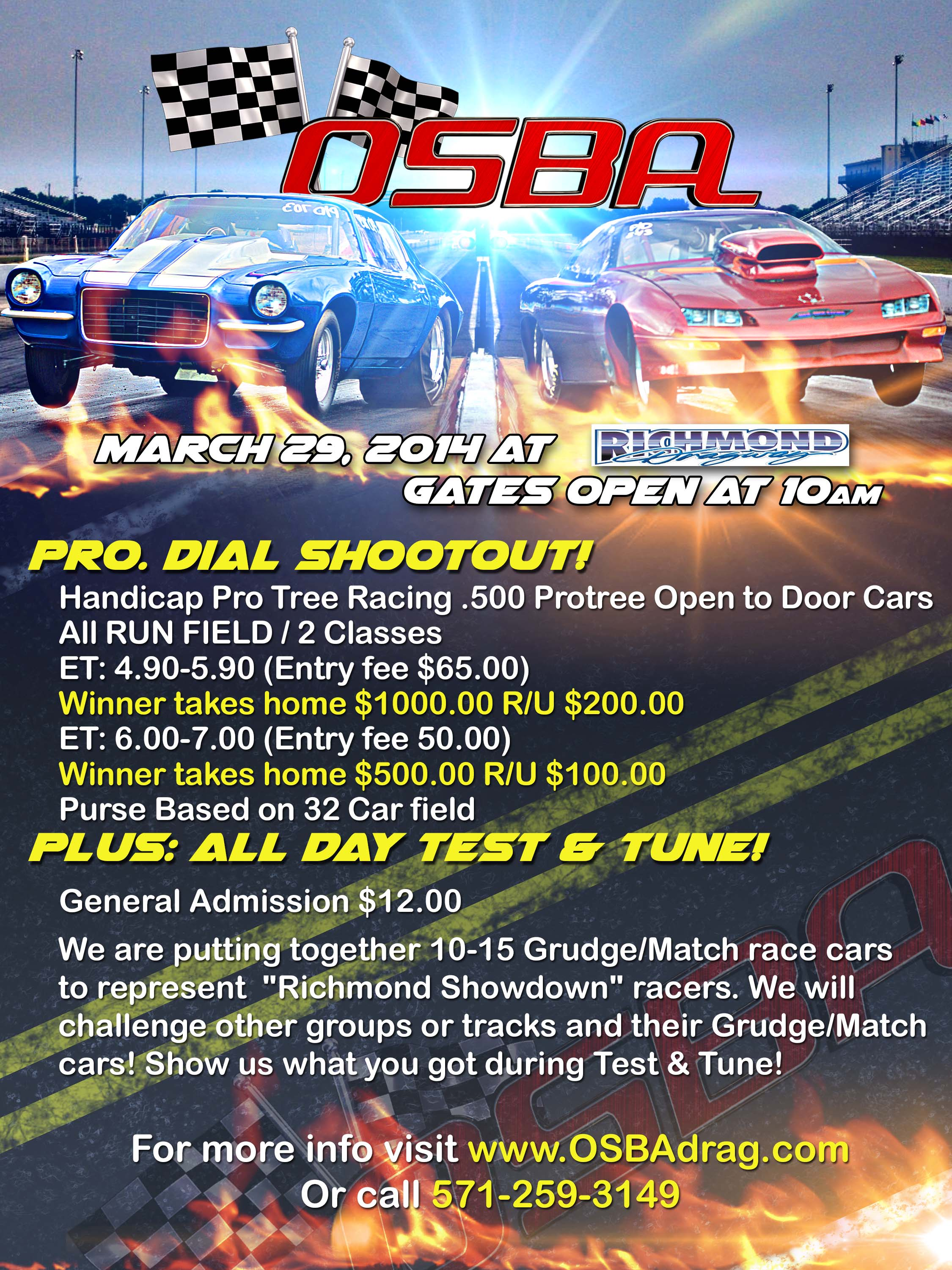 OSBA Pro Dial Saturday – March 29th thumbnail