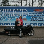 Wilson Burkhead captured the Motorcycle Win