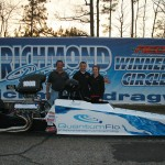 Jacob Otto had a great, fast day in the Quantom Flow Dragster