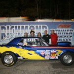 Steve Burke has a great outing with Emil in the crew chief position as the Modified Runner Up on April 19
