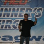 Jon VanHarn collected another SS Trophy