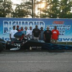 Bruce Hairston wins the first 4.80 dragster index over Brandi Lee Merritt