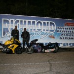 Defending champ Jawan Morris collects his first Motorcycle win of the season