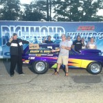 Where's Kilroy???  Derek found Victory Lane in his Vega Wagon for Top ET