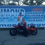 Kevin Johnson takes the Bike victory
