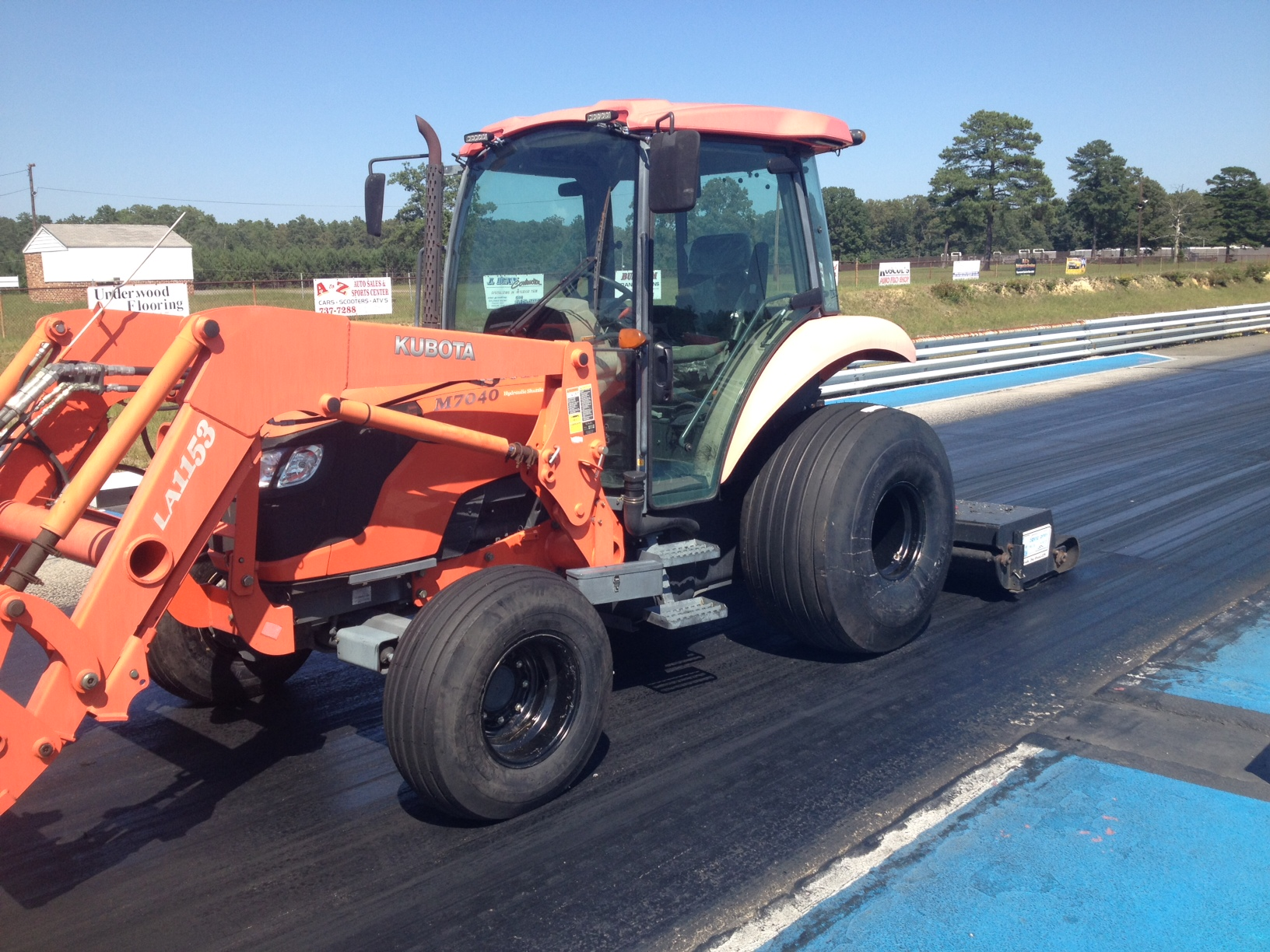 2014 Track Prep Equipment Upgrade thumbnail