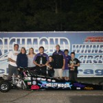 Chad Logan wins JD and in the process wins the Junior Dragster Championship for his Royal Purple Team