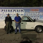 Willard Hammond made it 2 finals in a row to runner up in Modified