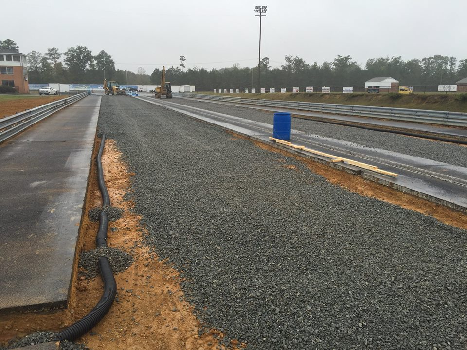THIS WEEK:   Track CLOSED for major racing surface renovation project thumbnail