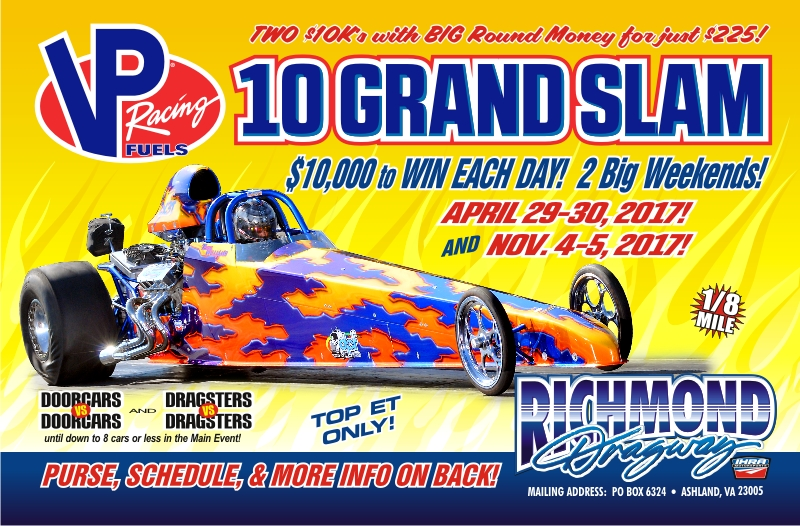 THIS WEEK: Friday Nite Street Fights/TNT on April 28 and VP Racing Fuels $10 Grand Slam Saturday & Sunday thumbnail