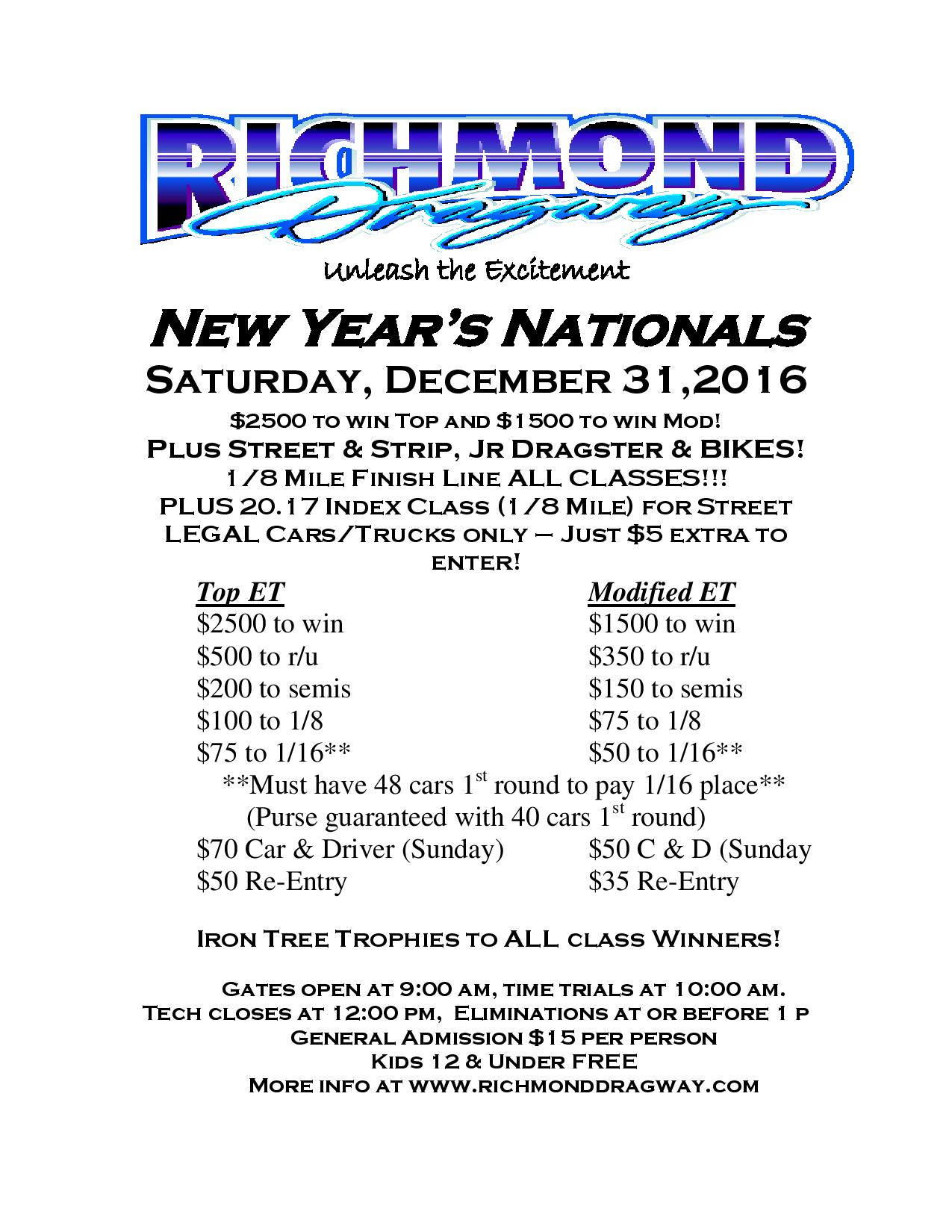 New Year's Nationals-Sat, Dec 31, 2016 thumbnail
