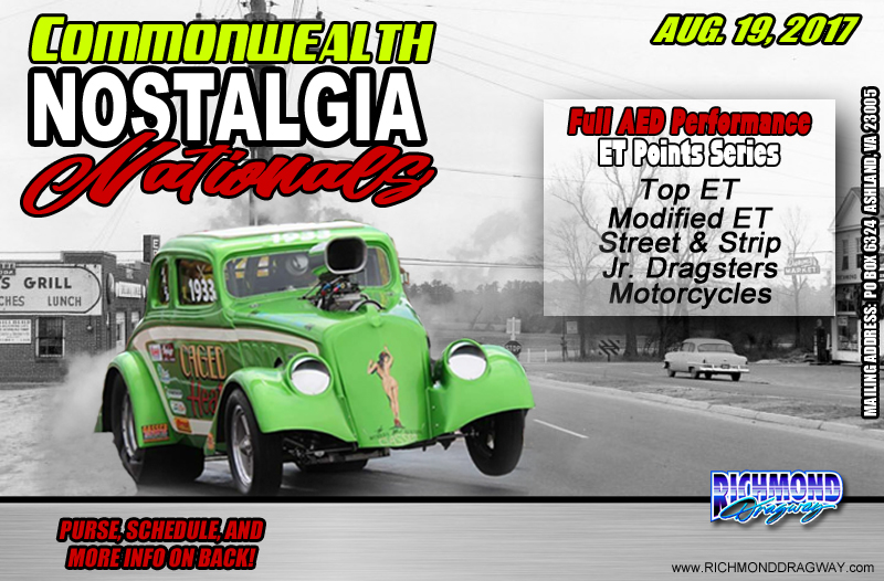 Commonwealth Nostalgia Nationals coming Aug 19 thumbnail