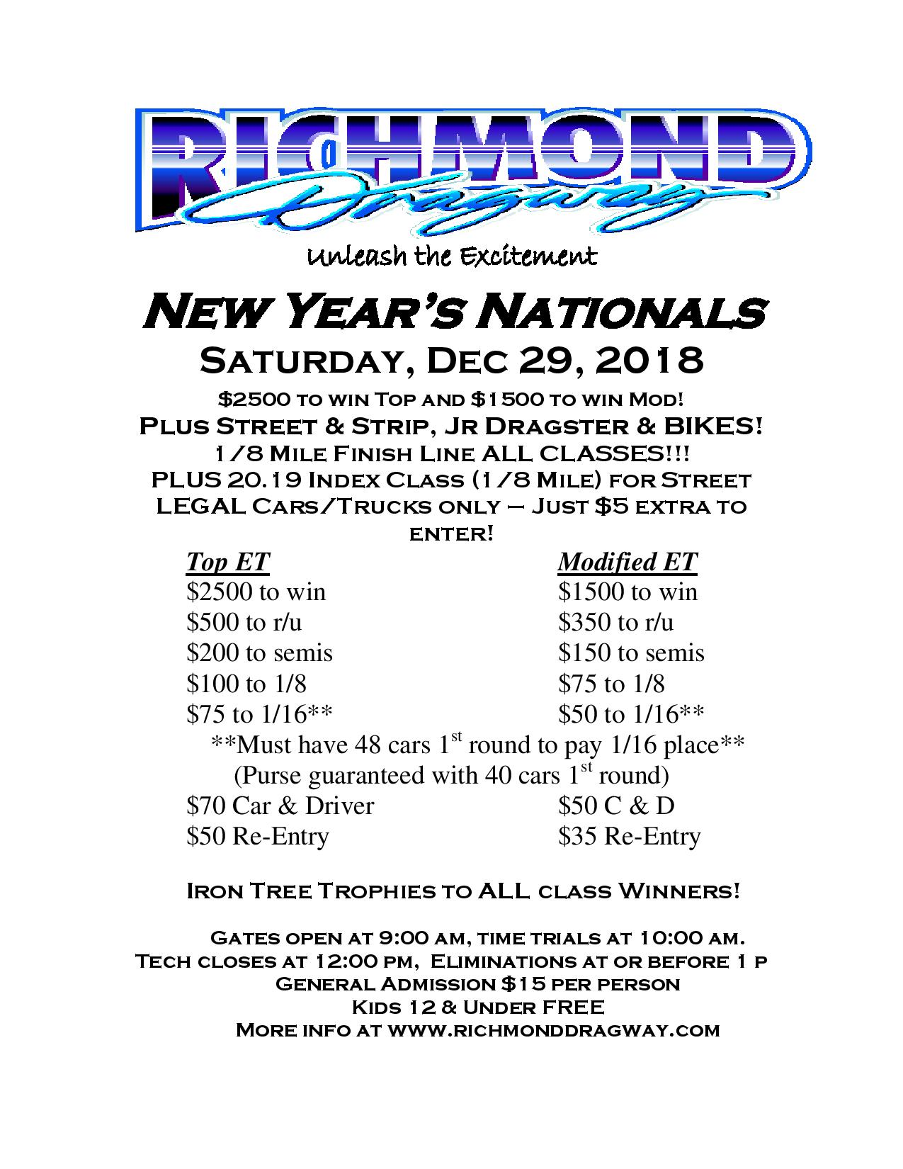 richmond dragway | unleash the excitement